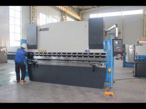 125T sheet metal baluktot machine 6mm, haydroliko pindutin ang preno WC67Y-125T 3200 para sa China