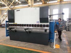 125ton sheet baluktot machine para sa hindi kinakalawang na asero pagbabalangkas