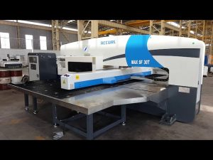 30 tons CNC servo hydraulic turret punch press
