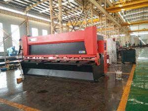 12x3200mm steel plate guillotine machine 3000mm metal sheet naggugupit machine 12mm Electrical