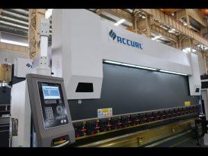 4 Axis CNC pindutin ang preno ng machine 175 tonelada x 4000mm CNC motorized pagpaparangal
