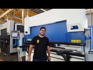 6-Axis CNC Press Brake Euro Pro B32135 sa Wila Clamping System sa pamamagitan ng mga kostumer ng Australia