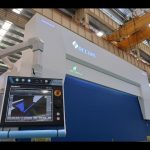 8 axis CNC hydraulic pindutin preno 110 tonelada 3200mm