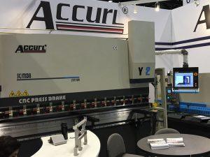Ang Accurl ay sumali sa tool sa makina ng Chicago at Industrial Automation Exhibition sa 2016