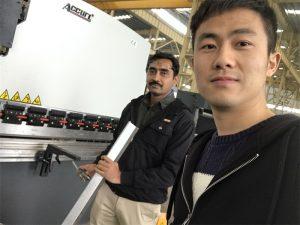 Algeria Client Testing Pindutin ang Brake Machine sa aming Pabrika