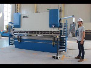 CE 2 axis CNC Press Brake 130Tx3200 E200 NC Control System NC Pindutin ang Brake Machine