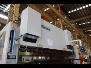 Hydraulic NC pindutin ang preno / sheet metal baluktot machine MB7-125Tx3200