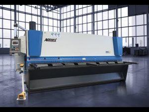 Hydraulic guillotine shearing machine MS8 8x4000mm sa Germany ELGO P40T touch screen CNC