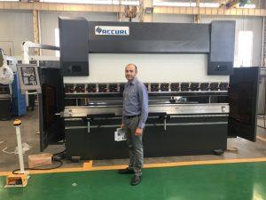 Iran Client Testing Machine sa aming Pabrika 1