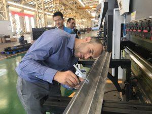 Iran Client Testing Machine sa aming Pabrika 2