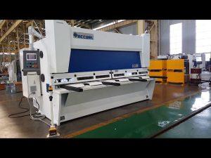 Master Variable Rake Guillotine Shearing Machine na may ELGO P40T CNC System