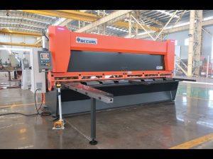 Master variable magsaliksik sa CNC haydroliko guillotine gunting MS8-10x4000mm