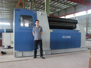 Mga Customer ng Taylandiya Bumili ng W12 Rolling Machine mula sa Accurl Company