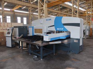 siemens cnc amada turret punching machine 4 axis 32 stations horizontal