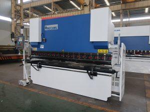 WC67Y hydraulic press brake, copper busbar bending machine, cnc bending machine