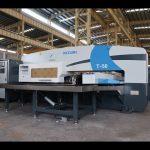 CNC hydraulic turret punch press para sa 30 tons cnc punching press machine