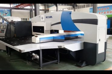 cnc punch press manufacturers - turret punch presses - 5-axis cnc servo punching machine