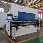 WC67Y-80T / 2500 80T steel plate cnc pindutin ang preno machine