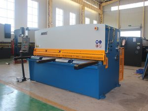 presyo ng pabrika QC12Y-6X2500 cnc haydroliko swing beam naggugupit machine