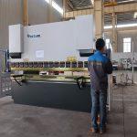 pag-promote WC67Y haydroliko sheet metal pindutin preno, baluktot machine para sa aluminyo profile