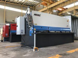 haydroliko naggugupit machine 12mm bakal plate cutting machine 2500mm