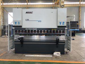 We67k cnc hydraulic iron sheet pindutin ang preno