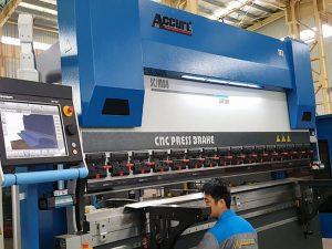 metal frame cnc sheet metal pindutin preno machine 300 Ton 6000mm / 4000mm