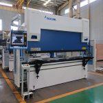 Wc67y-125t / 2500 haydroliko pindutin ang preno sheet baluktot machine na may mahusay na presyo