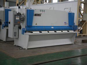 QC11Y cnc hydraulic shearing machine, steel cnc shearing machine, metal sheet shearing machine