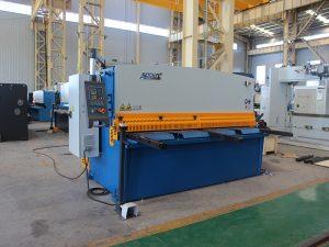 maliit na naggugupit machine, QC12y- 4X2500 haydroliko metal plate naggugupit machine