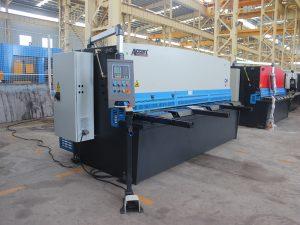 haydroliko metal plate swing beam shearing machine